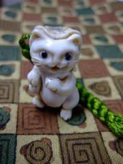 森謙次さん 提げ 猫又