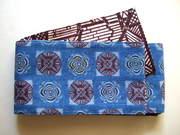 三橋工房半幅帯 かわり糸巻×竹垣
