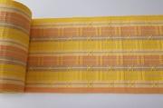 首里花織 半幅帯 黄色