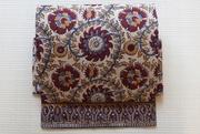 インド更紗二部式帯 お花