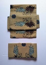 インドネシアの更紗 黄色