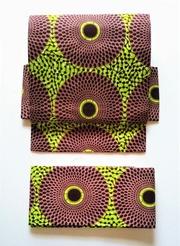 アフリカの布 丸