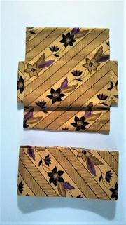 インドネシアの更紗の帯・クレマチス